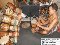 Bali Djembe Drums Craftsmen