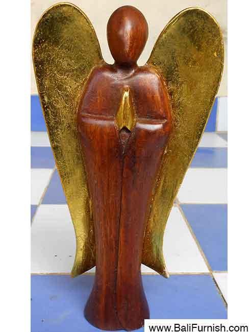 Balinese Carvings Wooden Angels