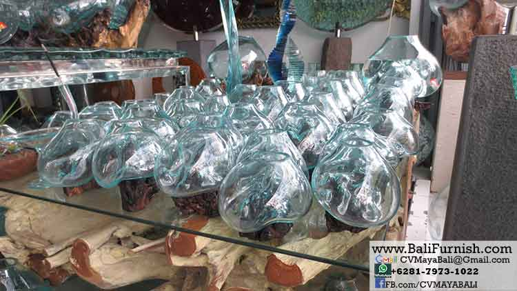 Glass Bowls Fish Tanks With Root Wood Bali Crafts Com