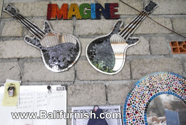 Mosaic Mirror Crafts