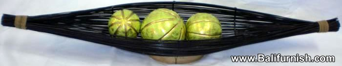 Wood Fruit Bowls