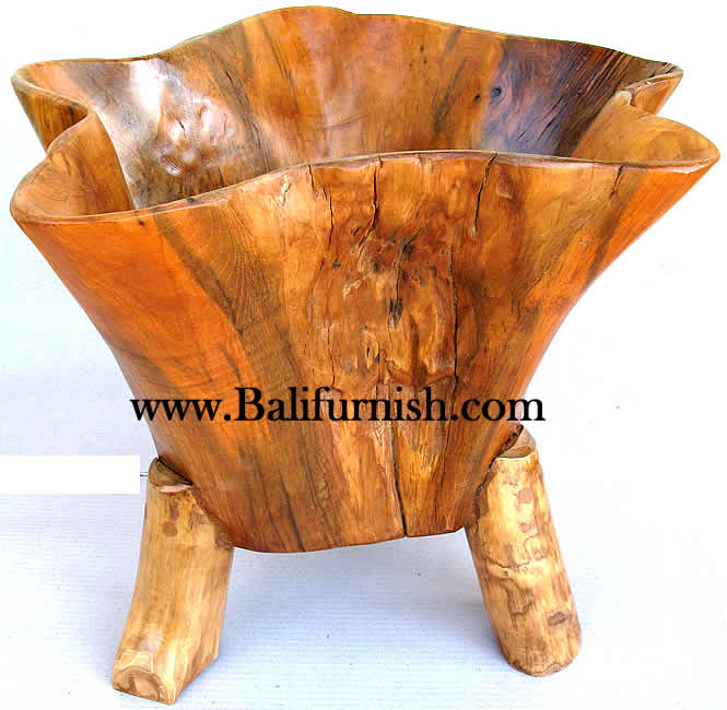 Teak Wood Bowls