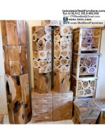 Teak Wood Stools Bali Furniture
