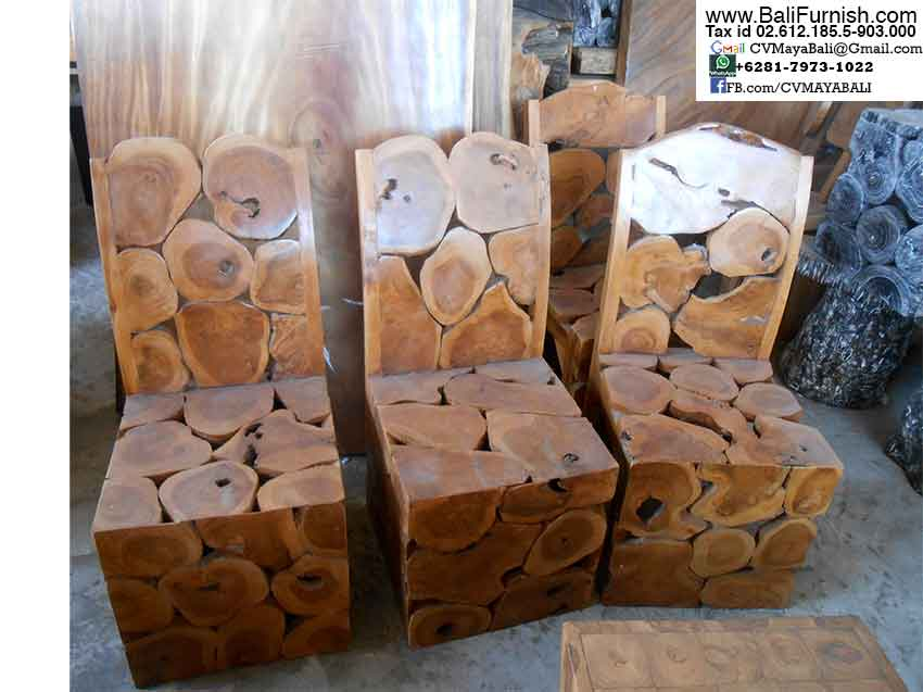 Teak Wood Chairs Teak Furniture Bali Indonesia
