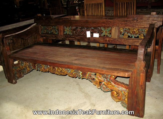 Teak Wood Daybeds Bali Indonesia Furniture Bali Crafts Com