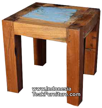 BC1-1 Reclaimed Boat Wood Table