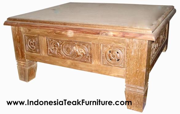 teak wood coffee table furniture bali indonesia bali craftscom - Teak Wood Coffee Tables