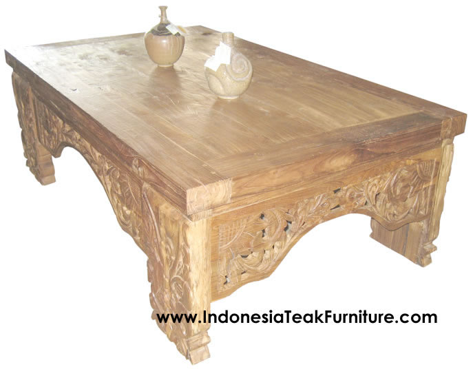 Indonesian Furniture Hand Painted