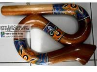 music1-1 Solid Wood Spiral Didgeridoo