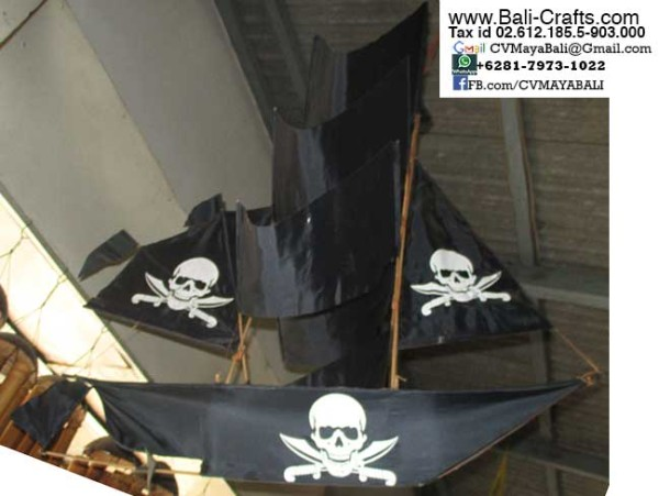 BCKite 2 Pirate Ship Kites Bali Indonesia