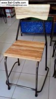 Bftml1-2 Rustic Kitchen Dining Chairs Bali Indonesia
