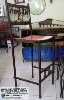 Bftml1-3 Rustic Metal Furniture Bali Indonesia