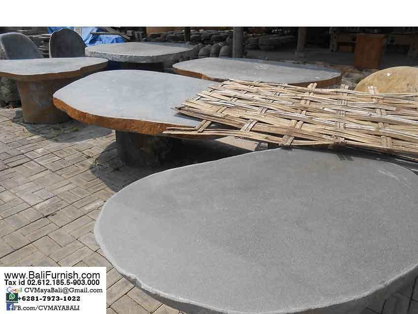 Natural Stone Table Tops Garden Furniture Bali Indonesia – Bali-Crafts.com - Natural Stone Table Tops Garden Furniture Bali Indonesia – Bali